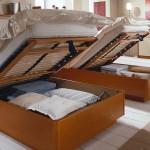 Detail Komfortbett mit Bettkasten