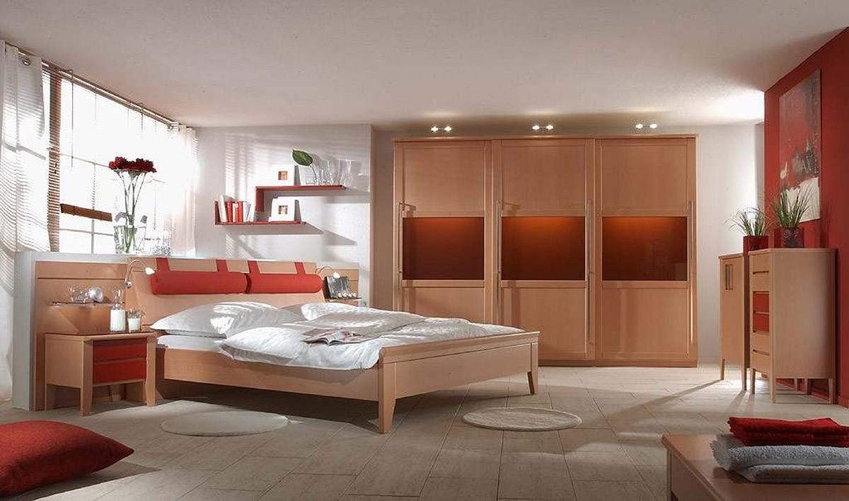 schlafzimmer gestalten buche verschiedene