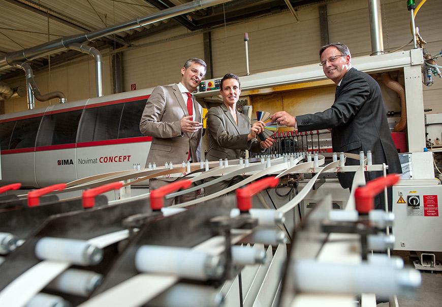 Vorstand des Unternehmens Cabinet - © CABINET Schranksysteme AG