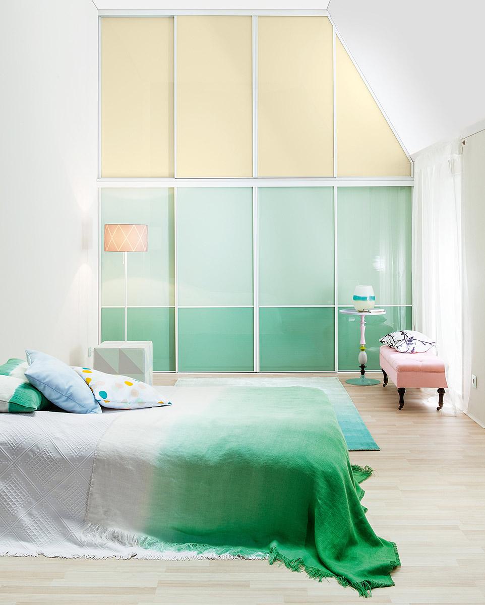 schlafzimmer in pastellt nen. Black Bedroom Furniture Sets. Home Design Ideas