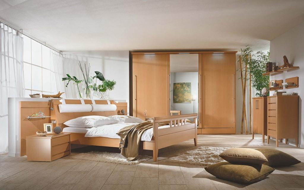 berbauschlafzimmer mit beleuchtung