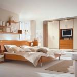 Schlafzimmer Kirschbaum furniert